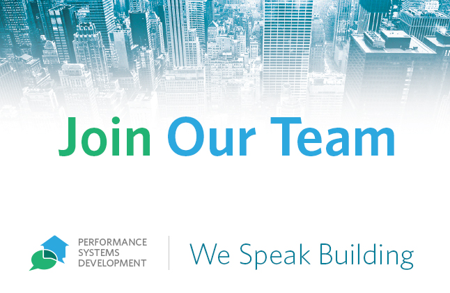 Careers - Now Hiring! – Performance Systems Development