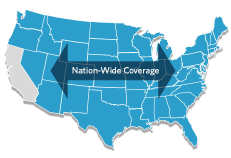 HERS Rater Provider Coverage Nation-wide