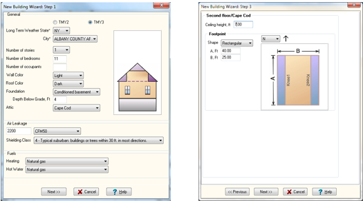 Improved Visual Representation of your Model. Including Attic and Basement Levels